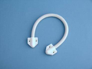 Kabelübergang für Türen SET 30cm w/br/chrom 8/6 mm