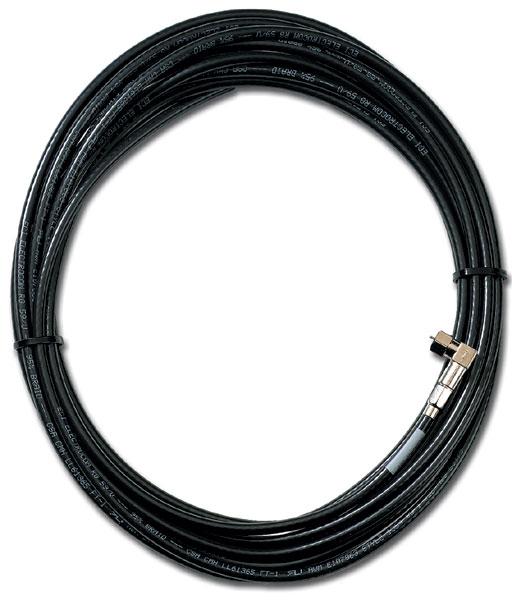 Alarm & Sicherheitstechnik - Anschluss Koaxialkabel mit Verbindung 7,5 m
